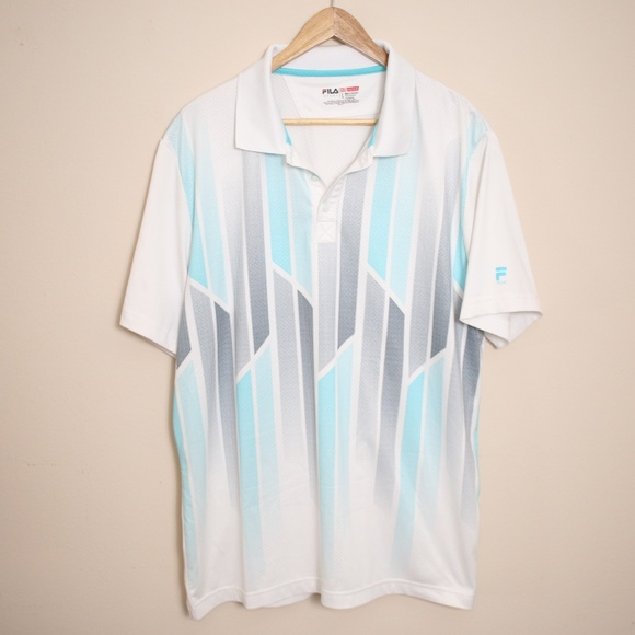 9ada4081c9306 Fila Shirts   Mens Sport Golf Polo Shirt Size Large Nwot   Poshmark